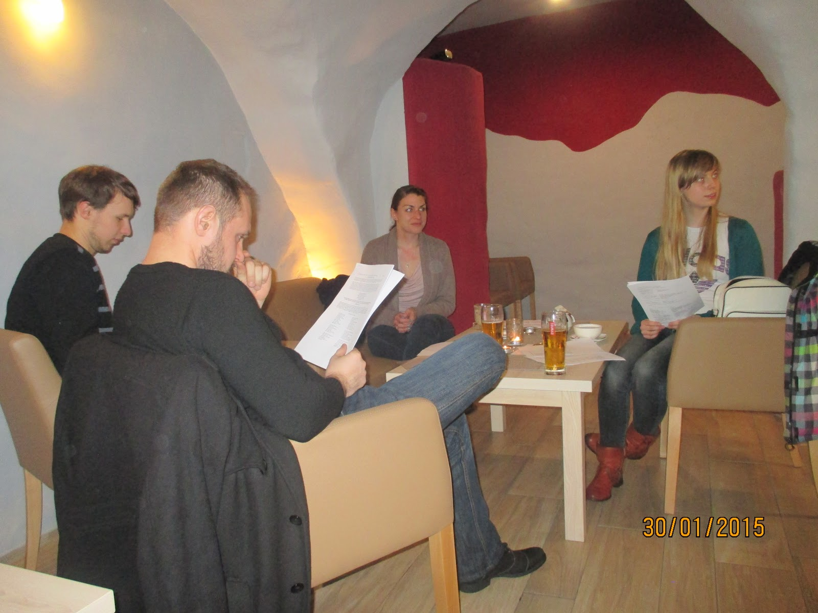 Sips and Sonnets: A Poetry Evening for ESL Students