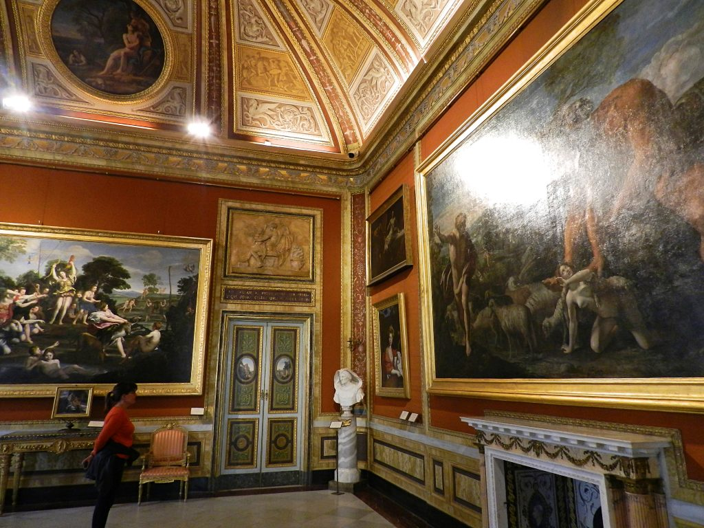 Galleria Borghese paintings