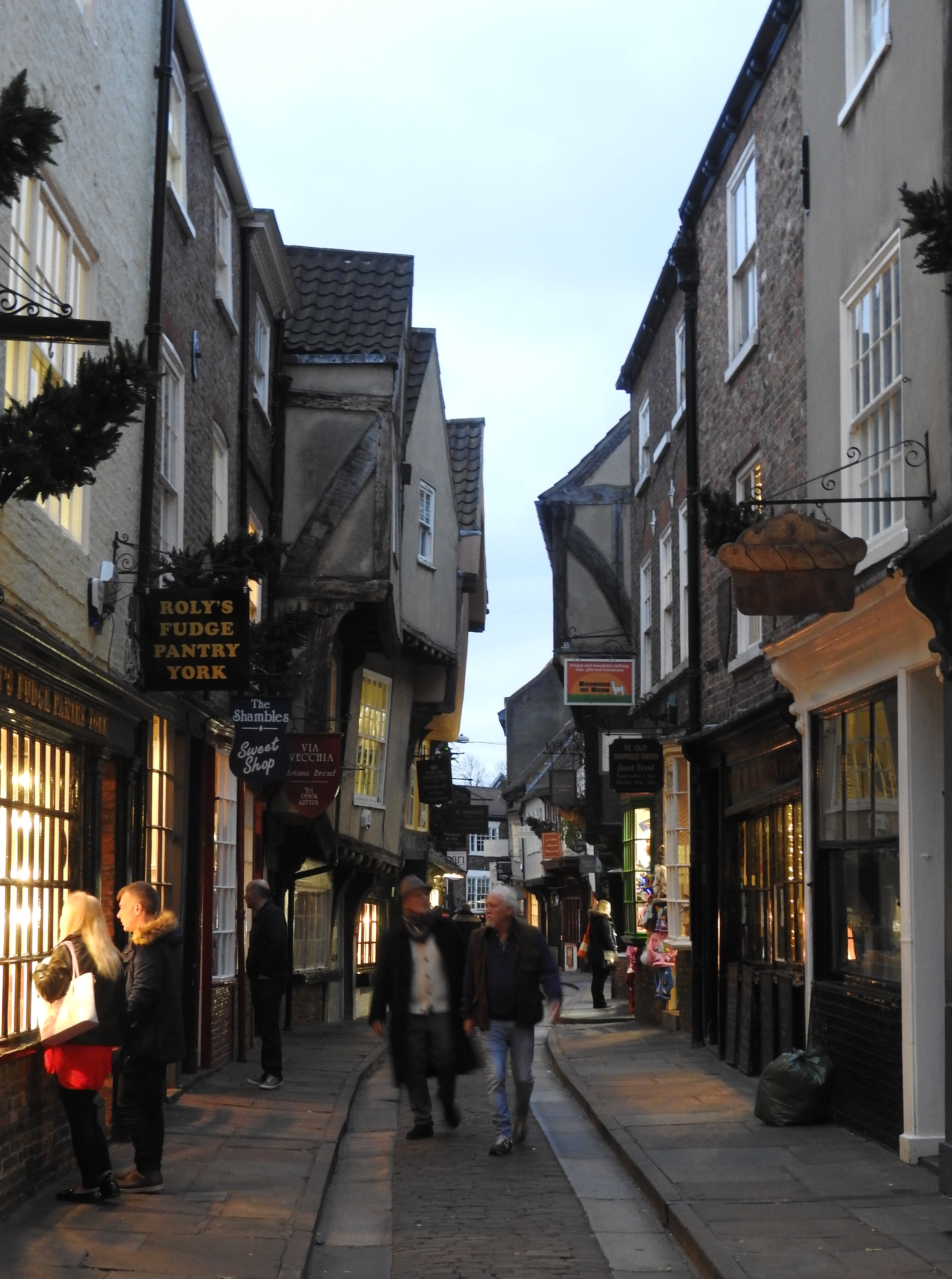 Butchers, Benches, and Boggarts: The York Shambles