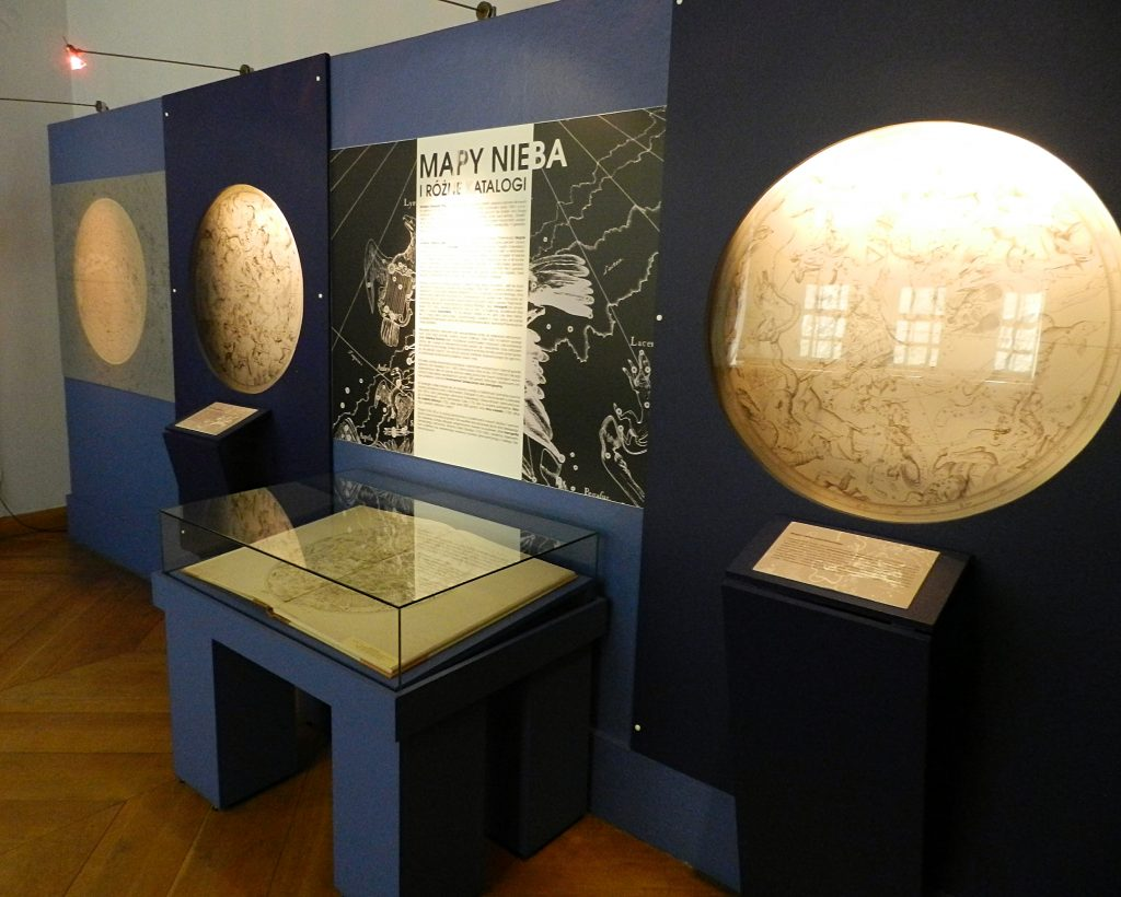 display at the Copernicus House