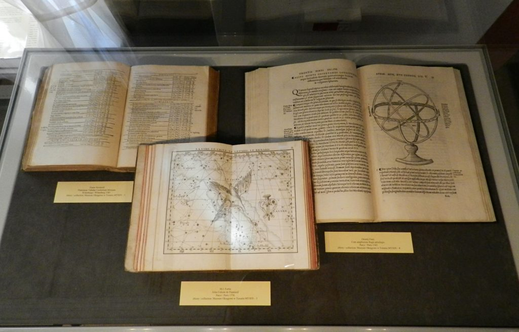 Astronomy books at the Copernicus House