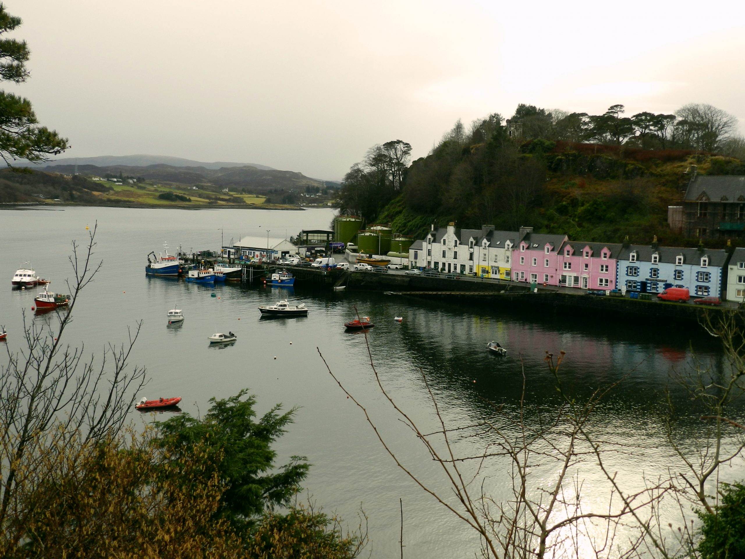 Portree: The King's Harbor and the Port on the Slope