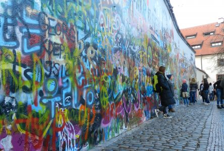 Writing on the Wall: The Lennon Wall in Prague