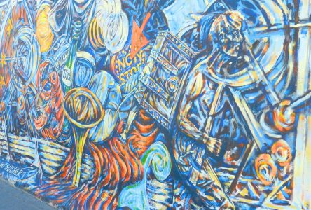 Painting on the Wall: The Berlin Wall