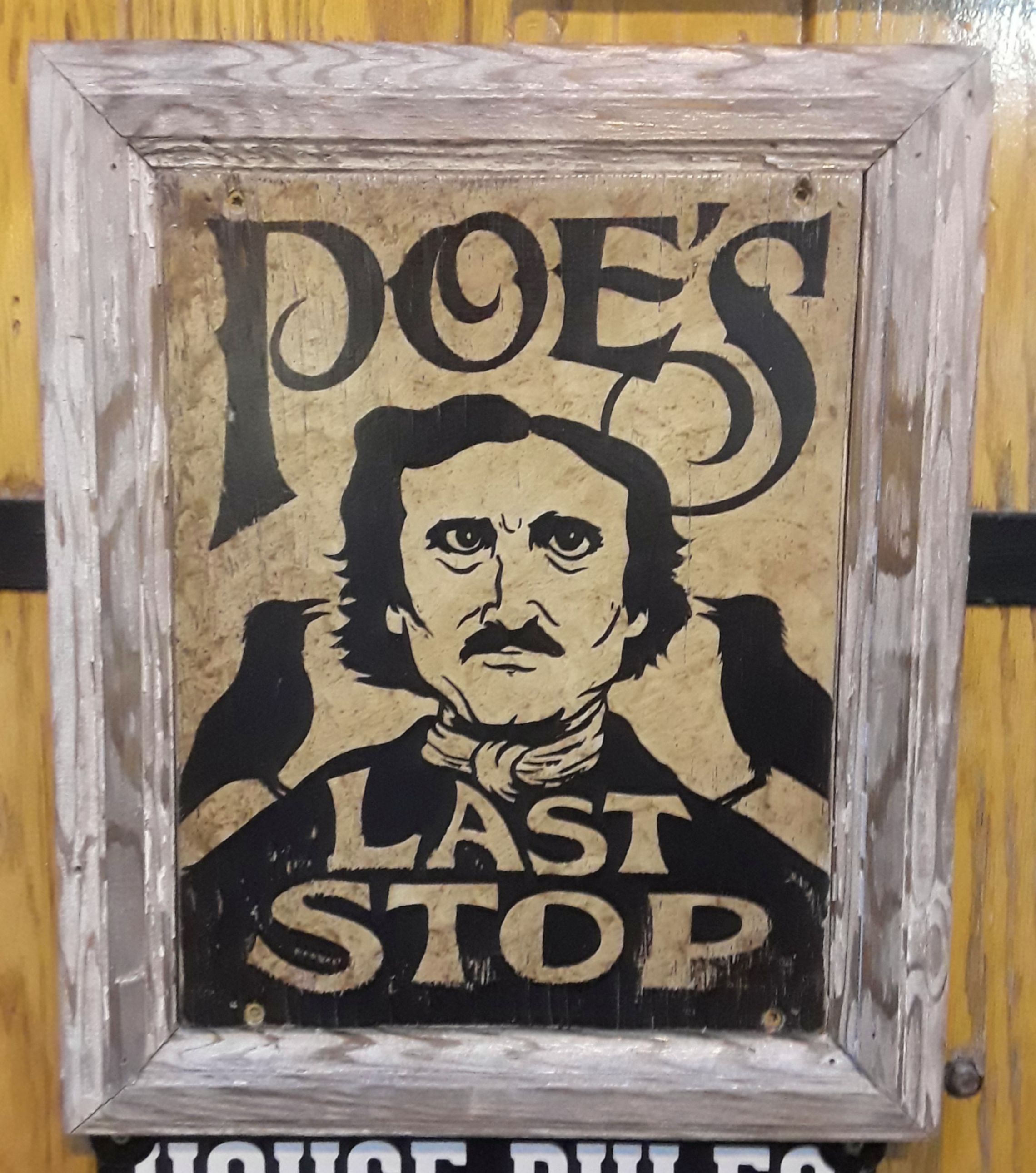 The Horse You Came In On Saloon: Edgar Allan Poe in Baltimore
