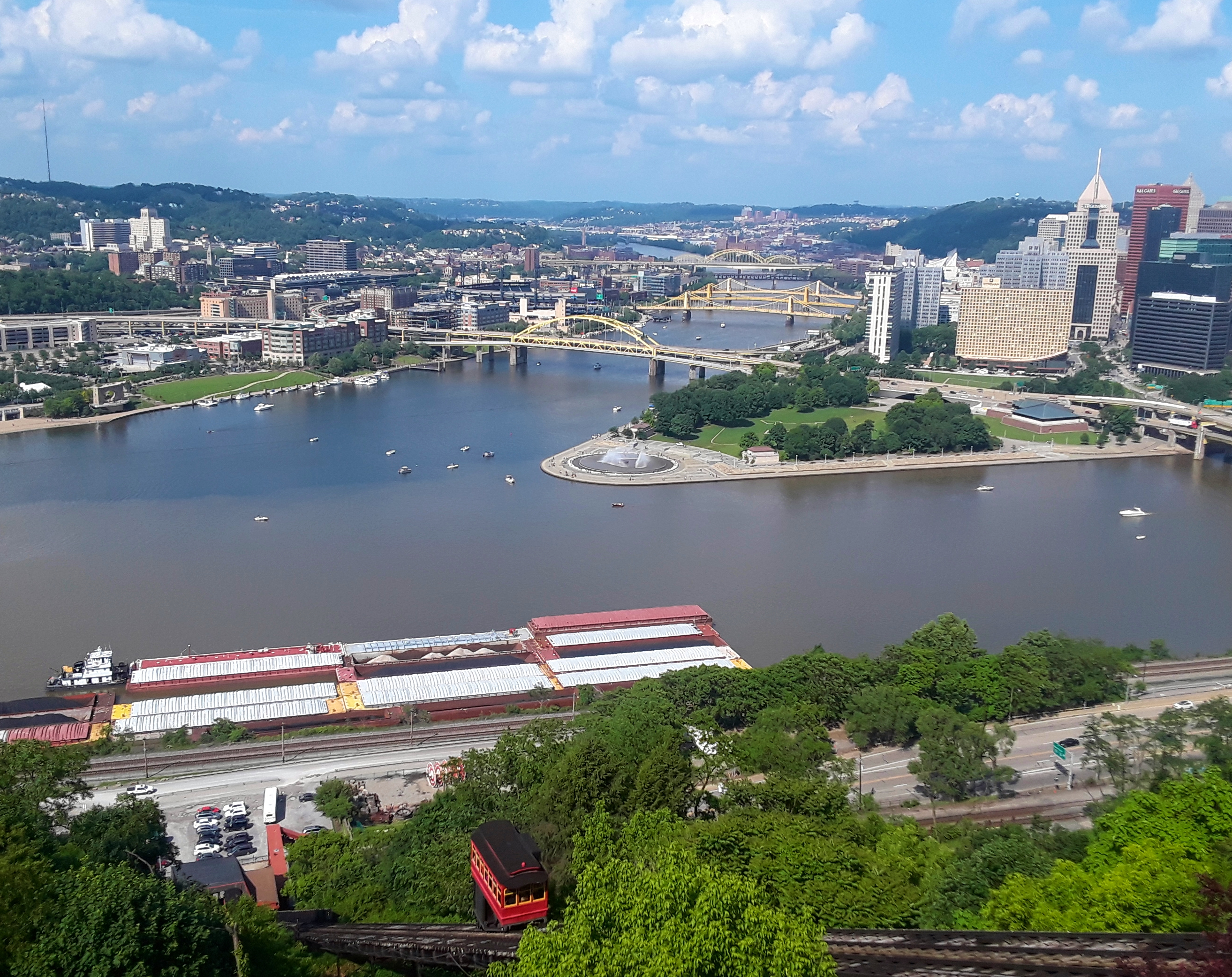 The Duquesne Incline: Riding the (Inclined) Rails: