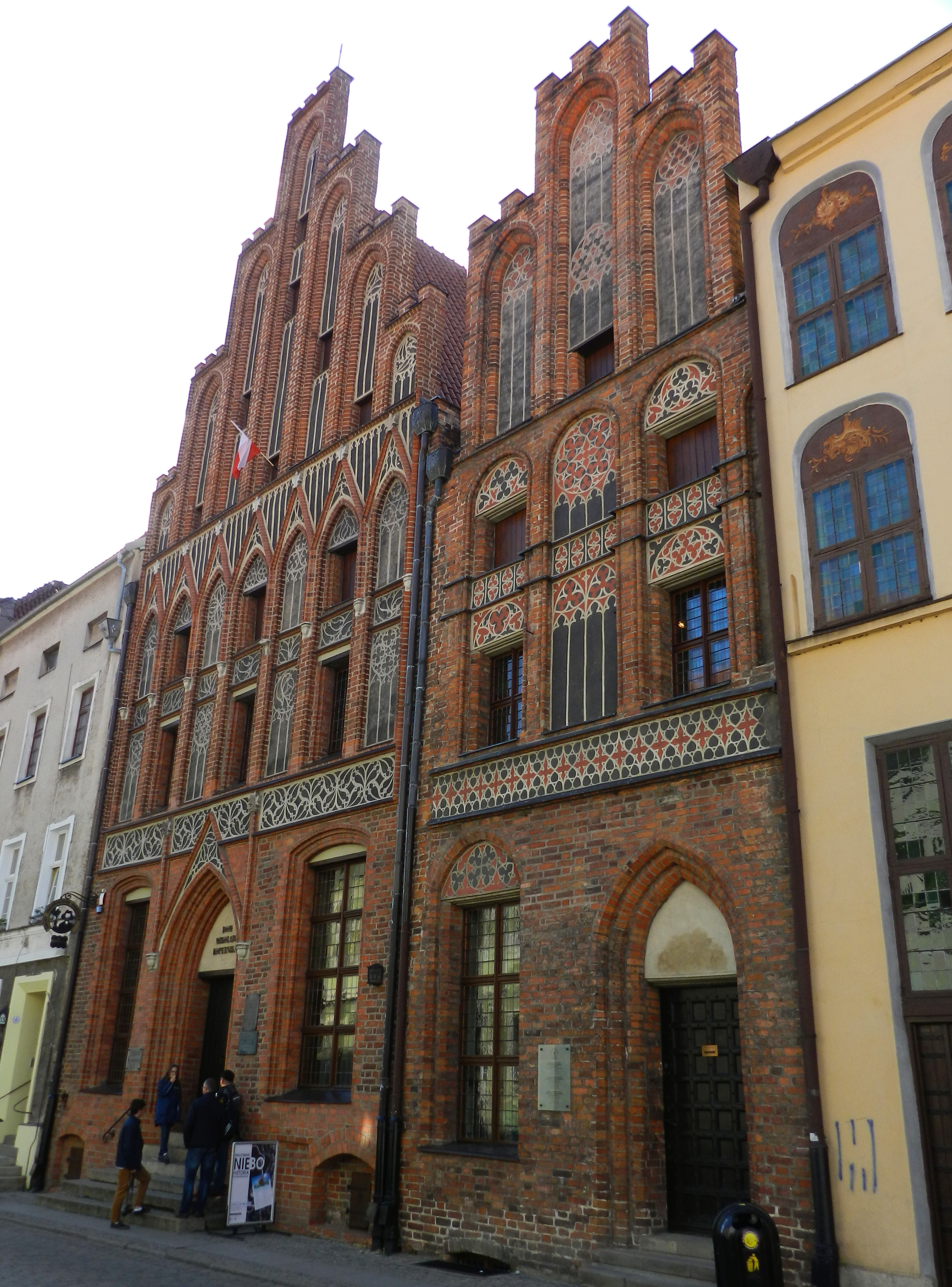 Copernicus House in Toruń: Some of Use are Looking at the Stars
